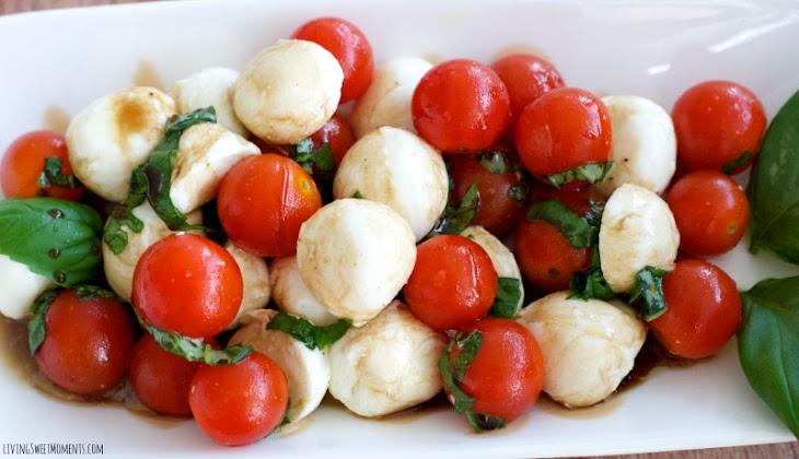 Quick Caprese Salad Recipe   Yummly