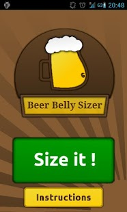 Beer Belly Sizer - screenshot