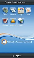 Screenshot of Orange Coast College