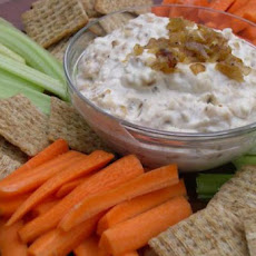Pan-Fried Onion Dip