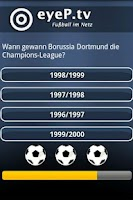 Screenshot of Fußball-Quiz 2010/ 11