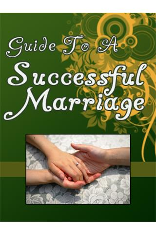 Guide to a Successful Marriage