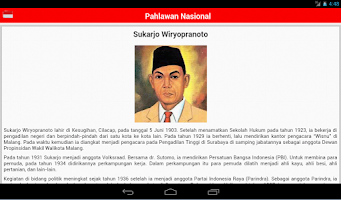 Screenshot of Pahlawan Nasional