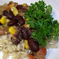 Aunt Nancy's Cajun Rice and Beans
