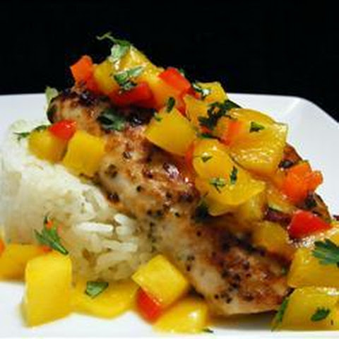 Tropical Grilled Mahi Mahi