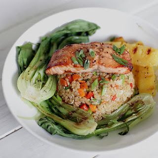 Honey-Soy Glazed Salmon With Bok Choy Recipes — Dishmaps