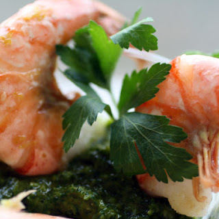 Roasted Shrimp Cocktail with Chermoula