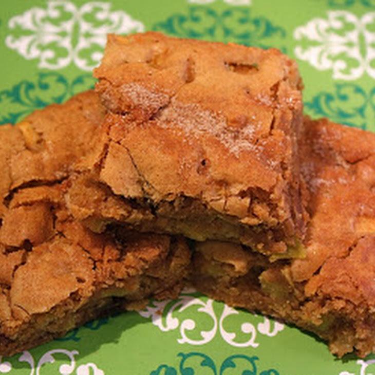 Apple Cinnamon Cookie Bars Recipe | Yummly