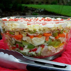 Many Layered Salad