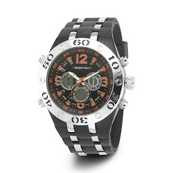 Regimen Dual Time Chronograph Watch - Analog Digital (For Men)