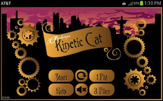 Screenshot of Kinetic Cat - Game for Cats