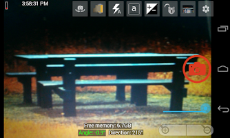 Screenshot of Fast Camera