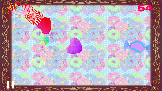 Sweets ninja Slicer - screenshot
