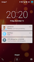 Screenshot of Notiflow — Flowdock notifier