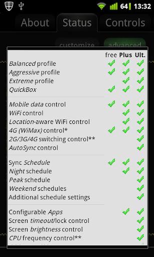 JuiceDefender Plus - screenshot