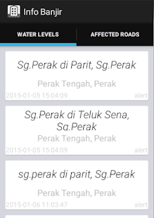Info Banjir - screenshot