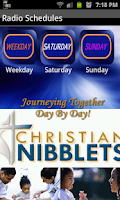 Screenshot of Christian Nibblets Radio