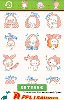 Screenshot of Kitty Cat Emoticons-Thailand