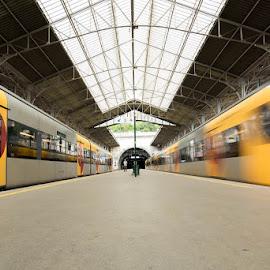 movement by Elisabete Ferreira - Transportation Trains