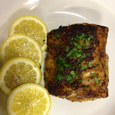 Blackened Cod