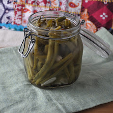 Spicy, Picked Green Beans