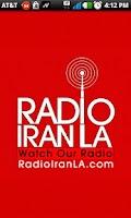 Screenshot of Radio Iran