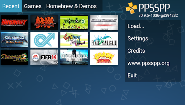 PPSSPP Gold - PSP Emulator APK screenshot thumbnail 1