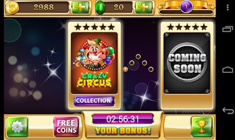 Screenshot of Slots - Circus's Way