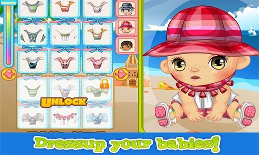 Beach Baby  - Kids Games - screenshot