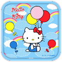 Hello Kitty Sky Balloon Theme icon
