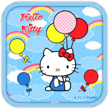 Hello Kitty Sky Balloon Theme
