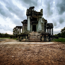 Temple by Ferdinand Ludo - Buildings & Architecture Places of Worship ( temple, angkor wat, cambodia )