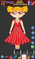 Screenshot of Dress up Princess for kids