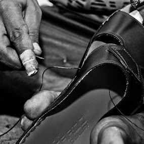 The Artisan by Wallei Trinidad - News & Events World Events ( black and white )