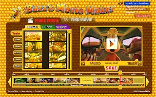 Screenshot of Buzz's Movie Maker