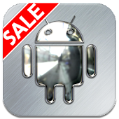 APK App Silver Chrome Icon Pack for iOS