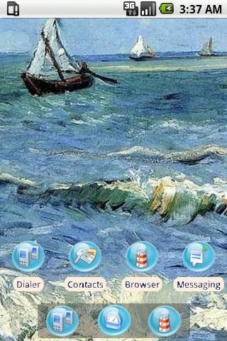 The Sea [SQTheme] for ADW