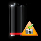 Low Battery Camera icon