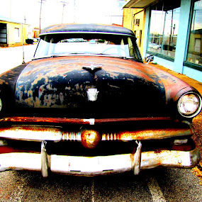 Time Won by Sue Neitzel - Transportation Automobiles ( autos, cars, rusty, speedy, vintatge,  )