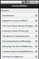 Screenshot of Success Mindset