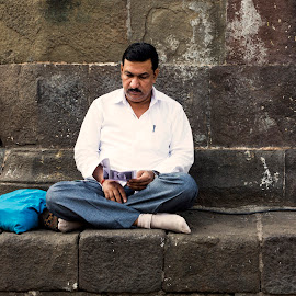 Will I Pass my exam... by Sohil Laad - People Portraits of Men ( outdoor, street photography )