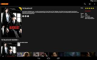Screenshot of Videoland
