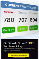 Screenshot of FREE Credit Score Instantly