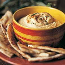Garlic Hummus.