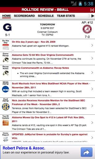Alabama Football Basketball