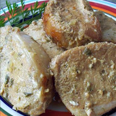 Grilled Honey Mustard Pork Chops