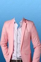 Screenshot of Man Fashion Suit Photo Montage
