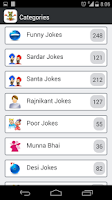 Screenshot of Hindi Funny Jokes