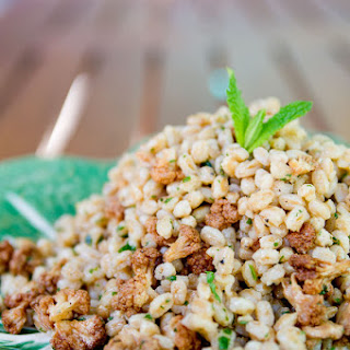 Farro and Roasted Cauliflower Salad