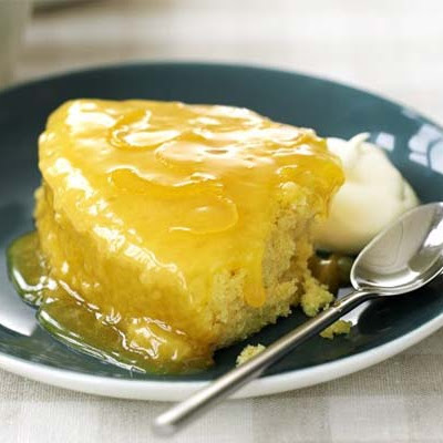 Fastest-ever Lemon Pudding
